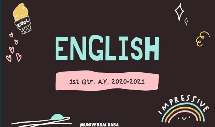 Learn English language at home